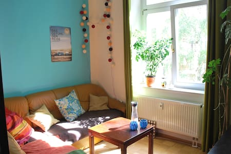 Lovely room close to river and trendy neighborhood - Dresden - Condominium