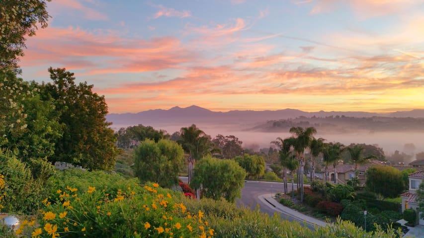 OC Home with a View near Laguna Beach