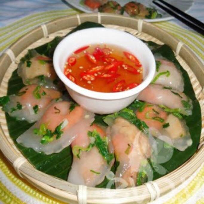 Vietnamese tapioca dumpling