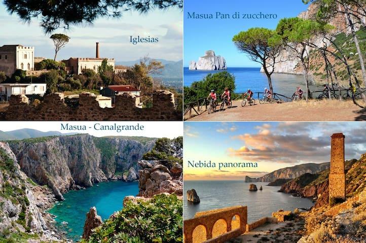 Stanza panoramica in zona centrale - Iglesias - Apartemen