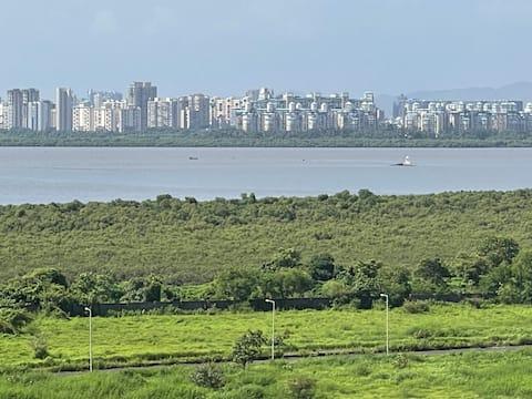 Sea facing entire 2BHK flat in Ulwe, Navi Mumbai