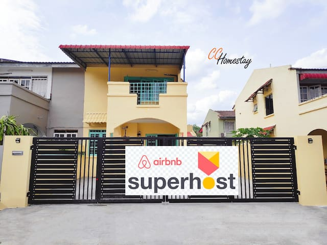 ♥️CC Homestay Ipoh♥️Semi-D Hillview  ★3-9pax★