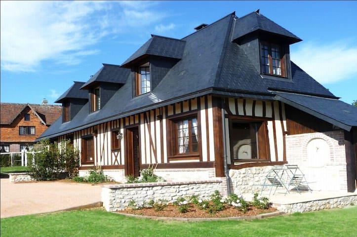 Gîte la Roseraie - Hermival-les-Vaux - Szállás a természetben