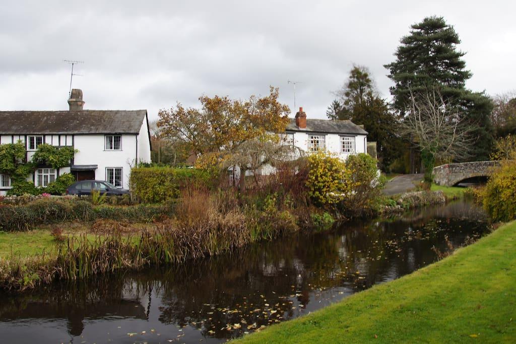 Eardisland village on the River Arrow