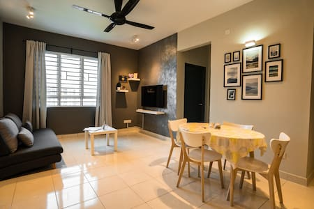 |NEW| COZY Modern Apart 3R|6pax|WiFi-SPICE-Airport