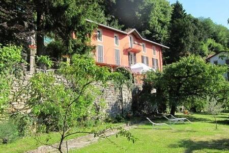 Villa, garden, amazing view: side jasmin, 5 beds - Torno