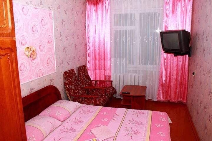 Уютная двухкомнатная квартира посуточно