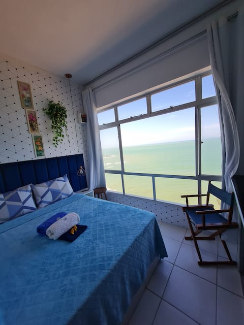 Apartamento Vista Para O Mar Azul