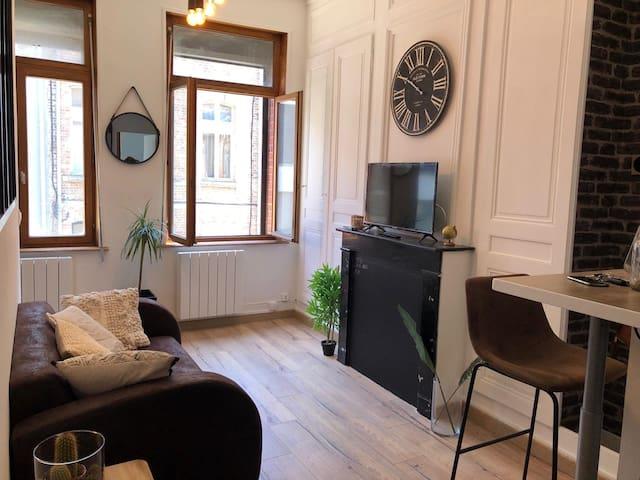 Nouvel appartement cosy très proche centre ville