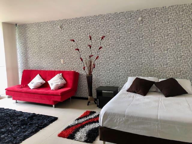 Apartaestudio Rose Flats Medellin