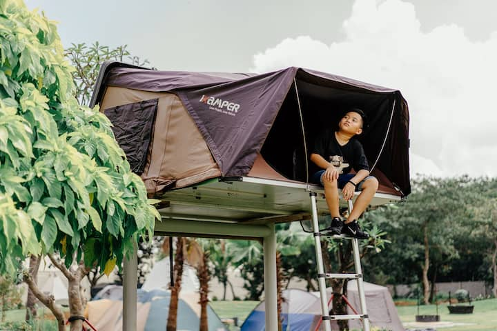Lovebirds(Ikamper Tent)-Greenfield Farmstay