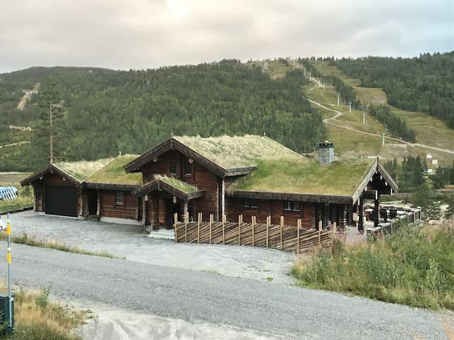 Høy standard laftehytte på Brokke i Setesdal