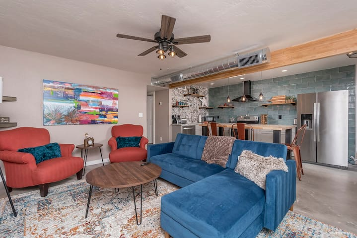 Old Town Scottsdale Industrial Chic Condo