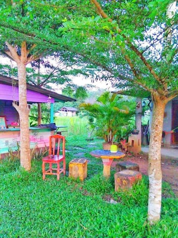 warm sun nice to stay - Tambon Phiman - House