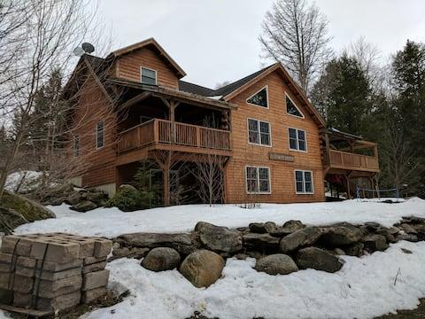 Sebec Lake Log Lodge
