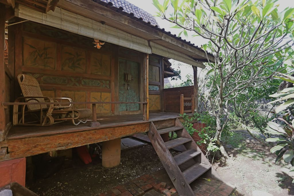 Enjoy our Rustic Wooden House, Get new feel experience living on wooden house.