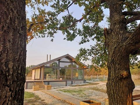 Дом с прекрасным видом в г. Preobrazhenovka