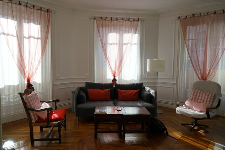 Room in modern apartment and quiet neighbourhood - Neuilly-sur-Seine - Wohnung