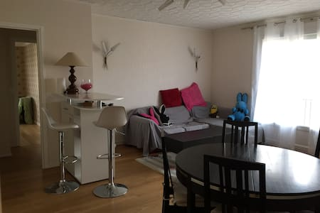 Charming and Quiet Bedroom, near railway station - Reims - Bed & Breakfast