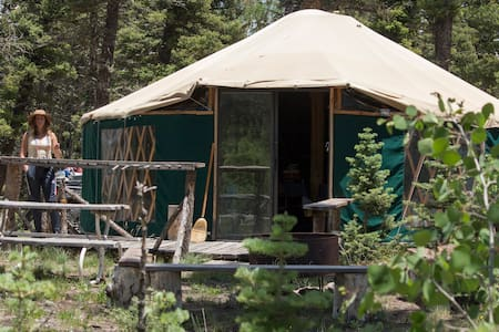 Midway Hike-in Camping Yurt
