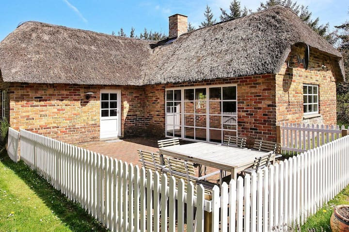 Rustic Holiday Home in Ulfborg with Terrace