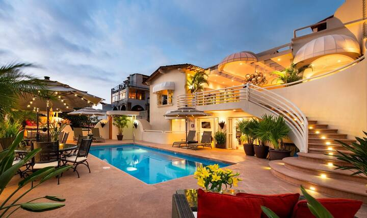 Casa Tabachin in Puerto Vallarta by Personal Villas - Historical Villa with Pool, Walk to Beach