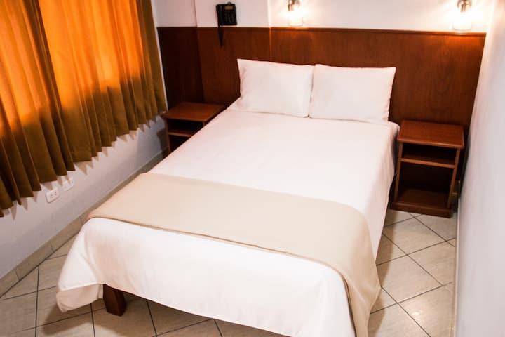 Habitación personal, 1 Persona, cama de 2 plazas