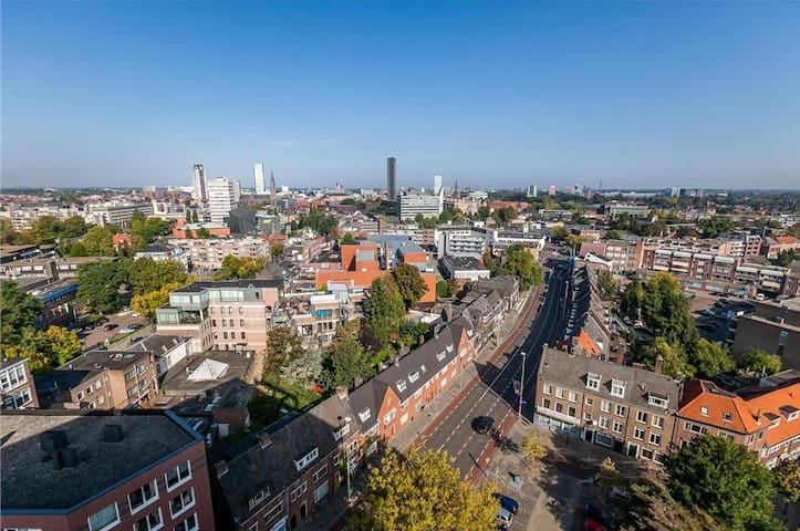 Great appartement with skyline view - Eindhoven - Daire