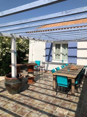 plus de 100 m2 de terrasses
