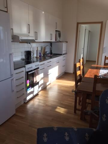Nice room near the sea, a park,shopping and centre - Gothenburg - Flat