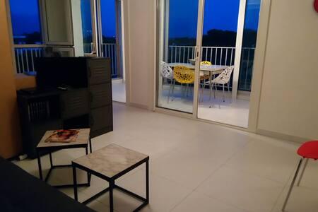 Argelès/mer, studio en résidence bordure de plage