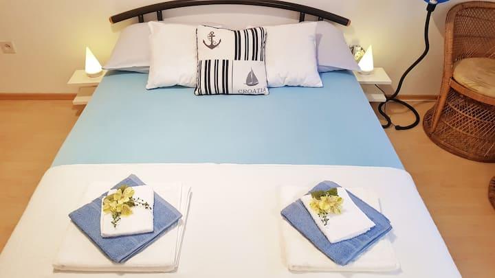 sweet little blue room