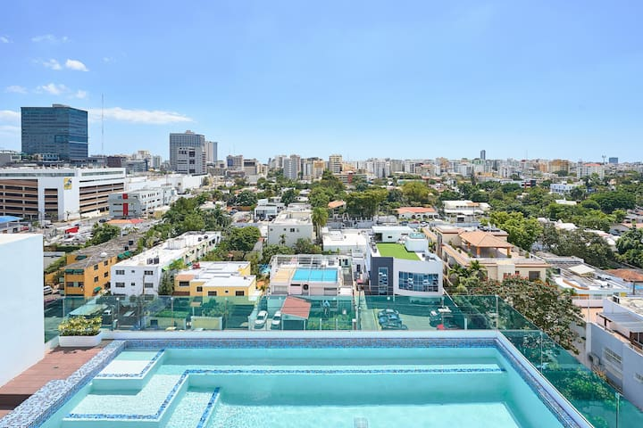 LUXURY DOWNTOWN ONE-BEDROOM PENTHOUSE + POOL ✔️