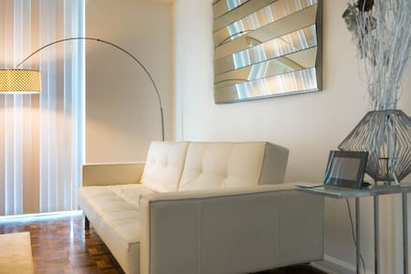 Private living room in PH Brickell