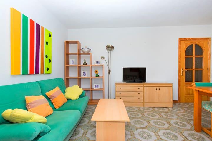 Sensacional apartamento junto al mar