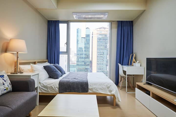 Mike's House#7: Gangnam Stn 1min NEW, SAFE, A+VIEW - Gangnam-gu - Apartment