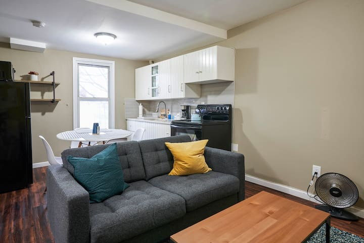 Private 2 BR Apt in heart of South Slope