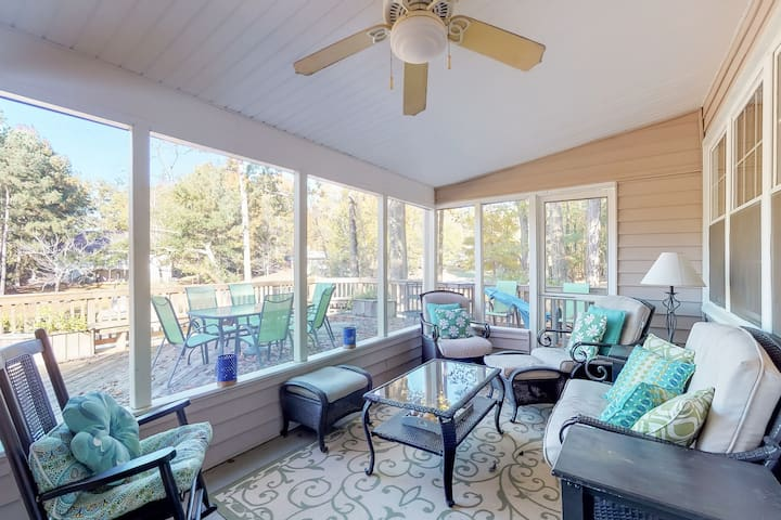NEW LISTING! Lakefront home with boat ramp and dock, dog-friendly!