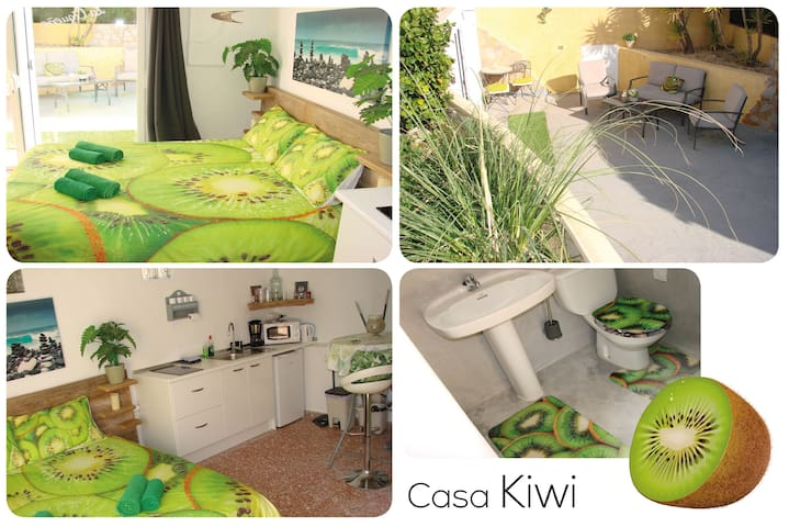 Casa Kiwi 🥝 Unique Modern Romantic ❤ studio.