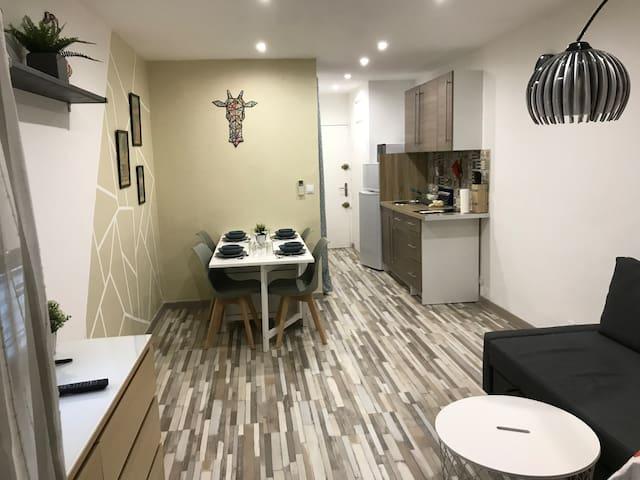 Appartement 2 pers à 20m de la plage de sainte-max