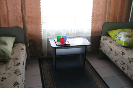 Private room for 3 people in Guest House Palmira