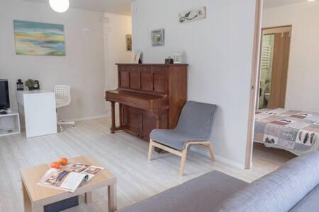 ДВУХКОМНАТНАЯ   с прусским пианино