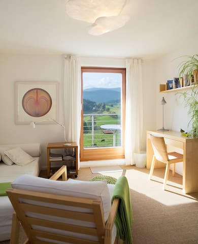 panoramic views, nature and silence - Lenzkirch - Apartamento