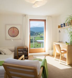 panoramic views, nature and silence - Lenzkirch - Apartemen