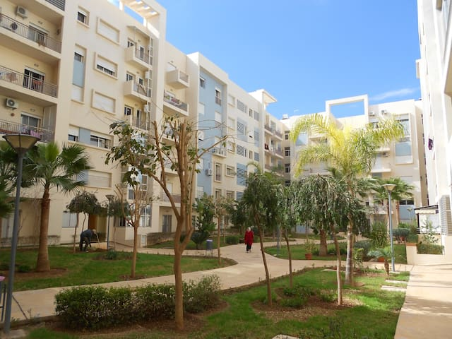 RESIDENCE SECURISEE CENTRE APPART WIFI 2 CHAMBRES