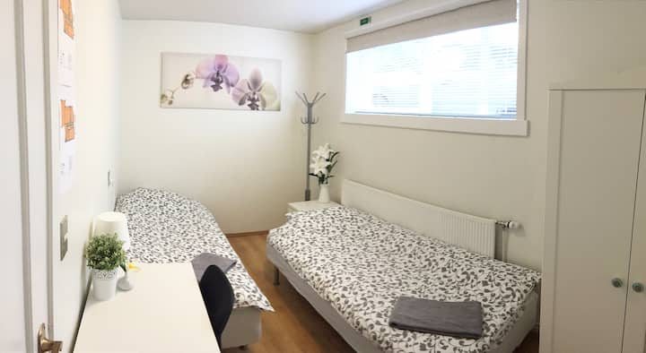 Cozy clean room near downtown Reykjavik