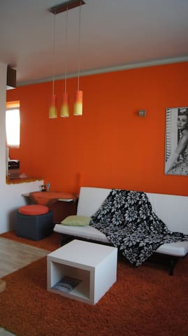 modern studio in calm village district of Prague - Praag - Appartement