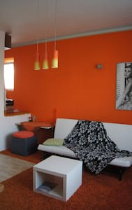 modern studio in calm village district of Prague - 布拉格 - 公寓