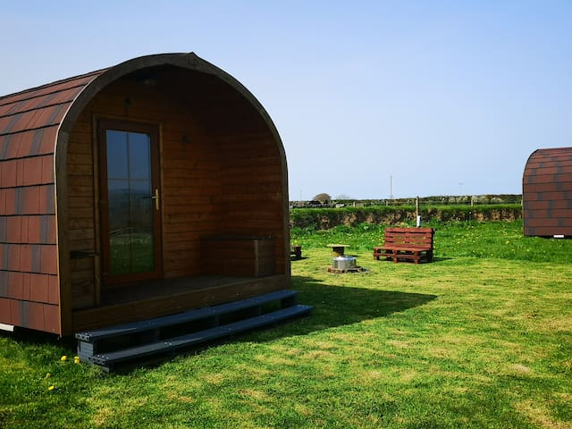 Melody Pod at Celaeron Glamping