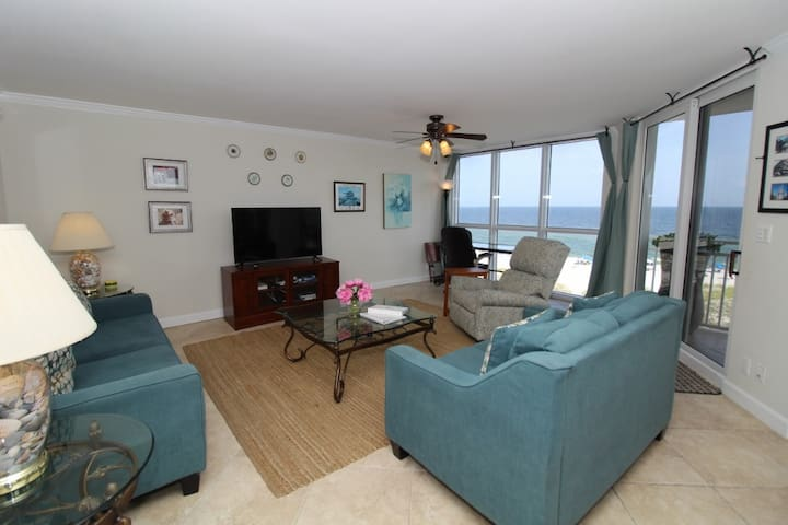 SeaSpray West 506- Beach Front Views from Terrace with Luxurious Interior!